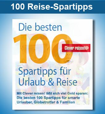 100 Spartipps von Clever reisen!