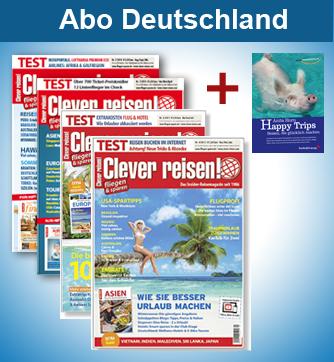Clever reisen! Abo Deutschland