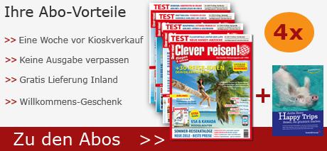 Abo-Vorteile Clever reisen!
