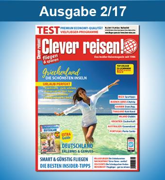 Clever reisen! Ausgabe 2/17
