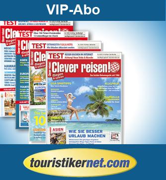 Clever reisen! Abo touristik insider