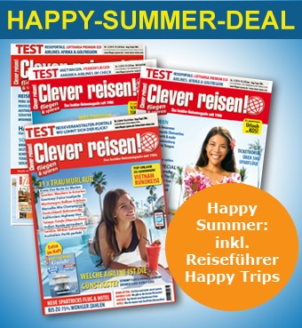 Clever reisen! Happy Summer Deal