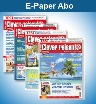 Clever reisen! E-Paper Abo