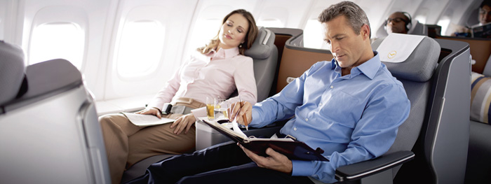 Günstig in die Business Class