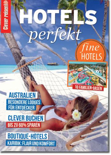 Clever reisen! Extraheft Hotel-Guide