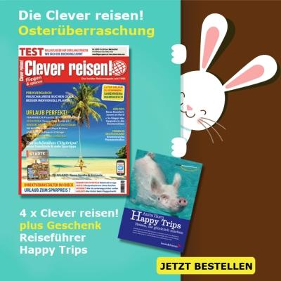 Clever reisen! Oster-Überraschung