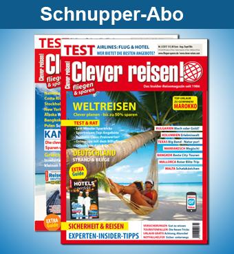 Clever reisen! Schnupperabo