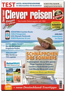 Reise-Magazin Clever reisen! bestellen
