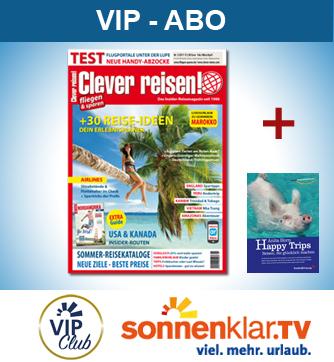 Clever reisen! VIP-Abo